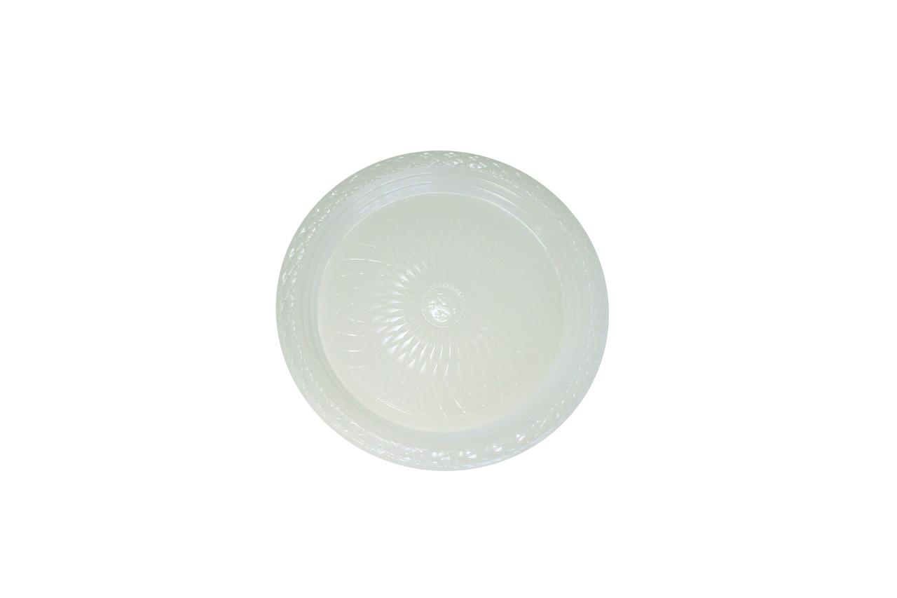 Prato Raso Biodegradável – 21 cm